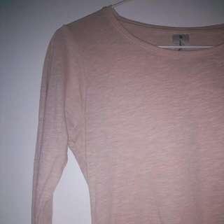 Pastel/Light Pink Long Sleeve Shirt