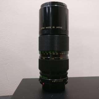 Canon FD 80-200mm