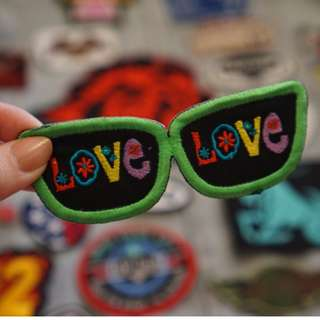 Love Sunglasses patch