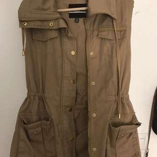 Dynamite Beige Vest