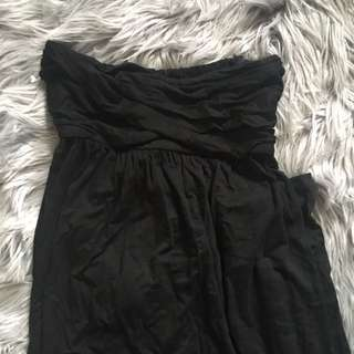 Miss Shop Black Bandeau Maxi (10)