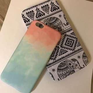 Pink & Blue Gradient iPhone 6/6s Case
