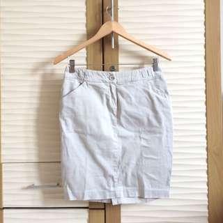 MANGO Beige Skirt