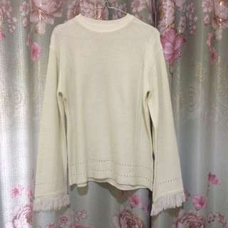 Sweater Rajut Fringe