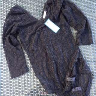 Black Jam Black Lace bodice