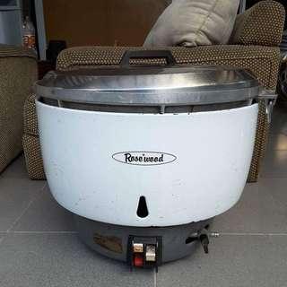 Industrial Rosewood Ricecooker