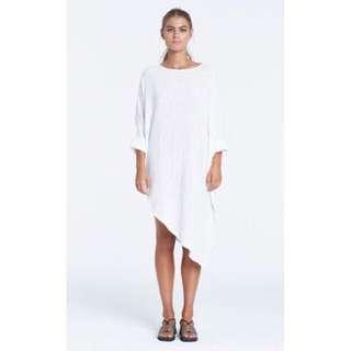 ZULU & ZEPHYR White Maxi Dress