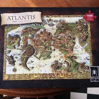 Atlantis Puzzle 1000 Pieces