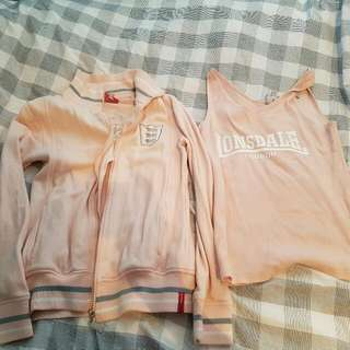Lonsdale Top And Jacket