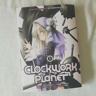 Clockwork Planet Vol. 1 Manga Lootcrate Exclusive