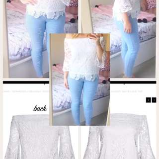 Little Party Top Size 14