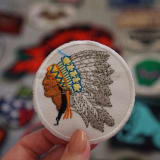 American Indian patch