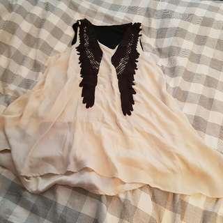 Angle Free Flowing Top/ Dress