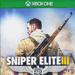 PRE OWNED XBOX ONE GAME SNIPER ELITE 3