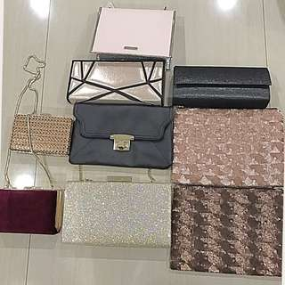Clutch Bags 9 For 4,500