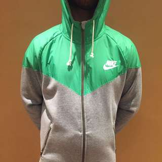 Two Colour Way Nike Sweater