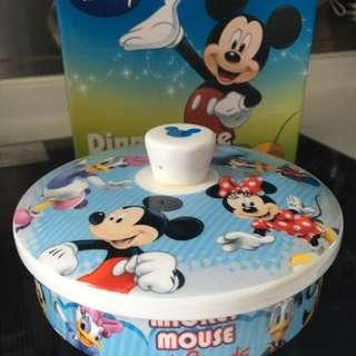 Disney 玻璃碗 有蓋