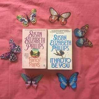 Lot of 2 Susan Elizabeth Phillips' Books