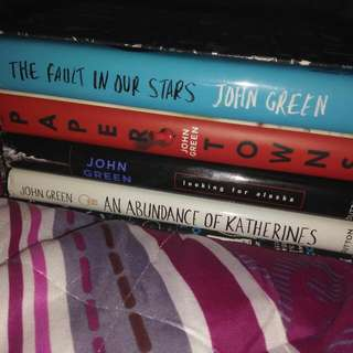 John Green Book Set (HB)