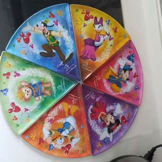 Disney Pizza Plates