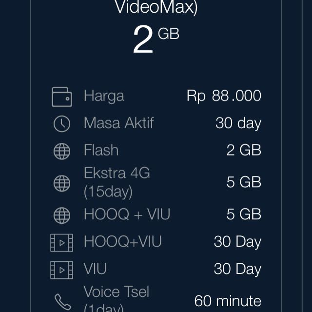 12GB Xtra Kuota Telkomsel