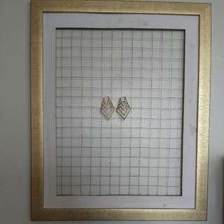 Jewelry Rack Framed