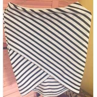 Asymmetric Bodycon Skirt (Rok Span/Bodycon Asimetris) by ADA Fashion Size S/M