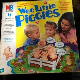 MB Wee Little Piggies 🎶🐷🐖