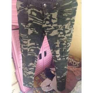 Army Long Pants Colorbox ukuran M/L