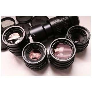Robot Schneider old lens