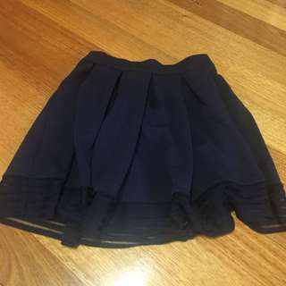 Size S Navy Skirt