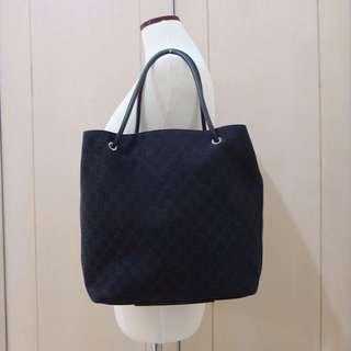 [SEWA] Gucci Canvas Tote Bag