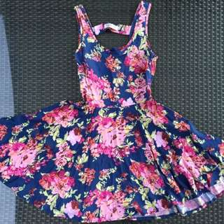 Beautiful Floral Summer Dress