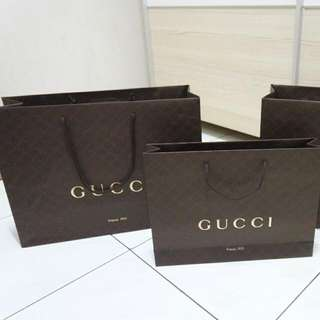 Gucci Original Paperbag Authentic Branded Paper Bag
