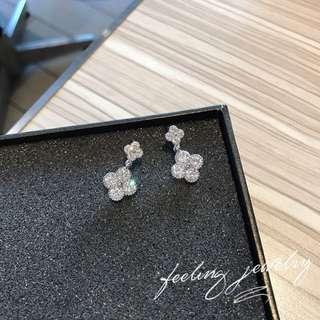 Instock: Clover Leaf Earrings