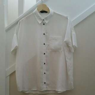Glassons white Loose Fitting Shirt