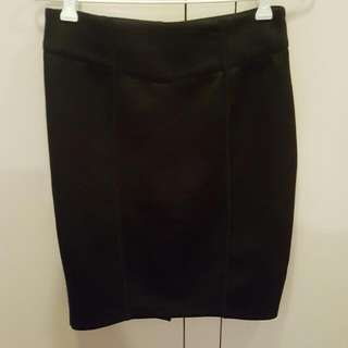 Black Work Skirt Size 8