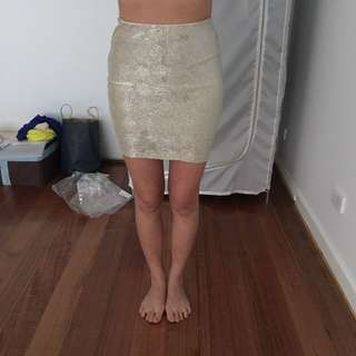 Gold Sass Skirt