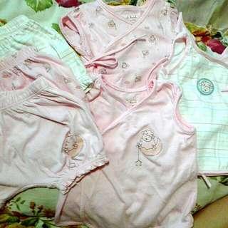 hush-hush baby terno for girls