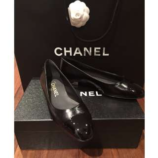 Chanel flats - Black leather