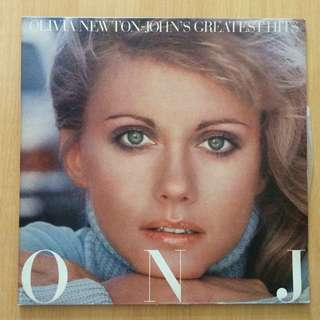 Olivia Newton John's Greatest Hits vinyl 黑膠