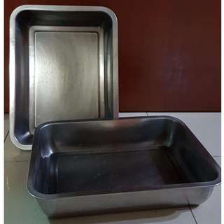 S/S RECTANGULAR SERVING TRAY