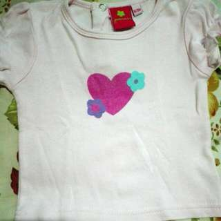 pinky baby blouse and leggings