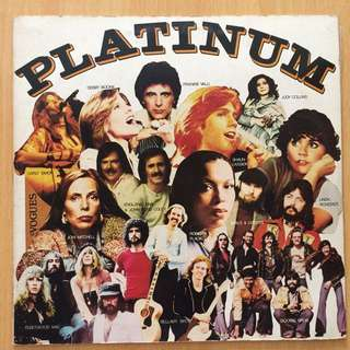 Platinum vinyl 黑膠