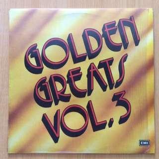 Golden Greats Vol.3 vinyl 黑膠