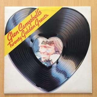 Glen Campbell's Twenty Golden Greats vinyl 黑膠