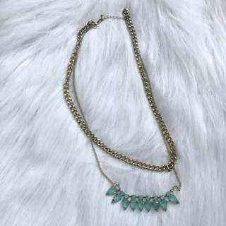 F21 2 Layered Necklace
