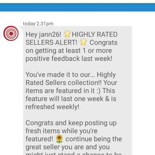 FEATURED AGAIN 2nd time thank you so much carousell