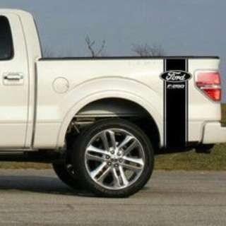 Truck Bed Stripe Decal Set of (2) for Ford F-250 Super Duty Pickup