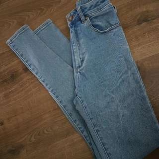 A Brand High Waisted Jean's Size 8